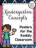 Kindergarten Musical Opposite Posters