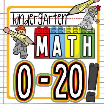 Kindergarten Math-- Numbers 0 - 20