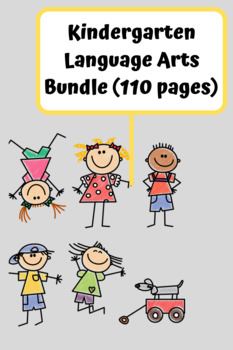 Kindergarten Language Arts Bundle