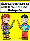 Kindergarten Language Arts Curriculum Guide in Spanish