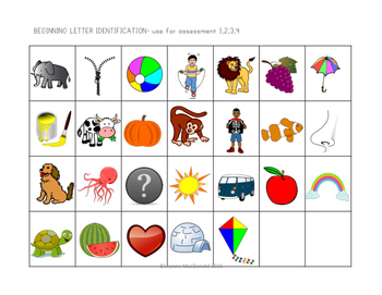 Kindergarten Language Arts (ELA) Benchmark Assessments