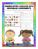 Kindergarten Language Arts (ELA) Benchmark Assessments