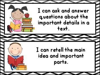 Kindergarten Language Arts I Can Statements- Iowa