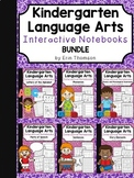 Kindergarten Language Arts Interactive Notebooks ~ BUNDLE