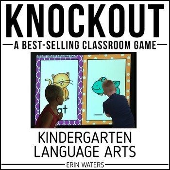 Kindergarten Language Arts Knockout {End of Year REVIEW}