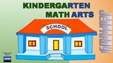 Kindergarten Language Arts & Math Jeopardy (Google Slides)