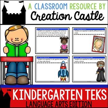 Kindergarten Language Arts TEKS