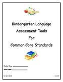 Kindergarten Language Assessment