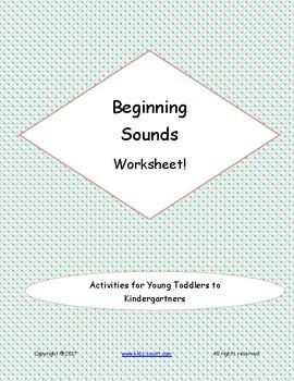 Kindergarten Language - Beginning Sounds