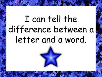 Kindergarten Language I Can Statements NEW British Columbia Curriculum
