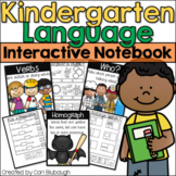Kindergarten Language and Grammar Interactive Journal (Common Core Aligned)