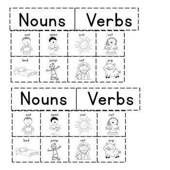 Kindergarten Language (Interactive Notebook)
