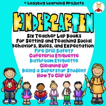 Kindergarten Lap Books For Teaching Social Behaviors Rules And
