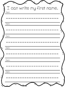 Kindergarten Leadership/Data Notebook