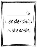 Kindergarten Data Folder Leadership Notebook