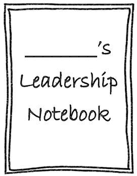 Kindergarten Data Folder Leadership Notebook