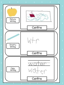 Kindergarten Learning Centre Labels Bundle!!!
