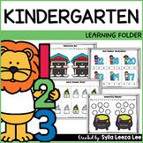 Kindergarten Learning Folder