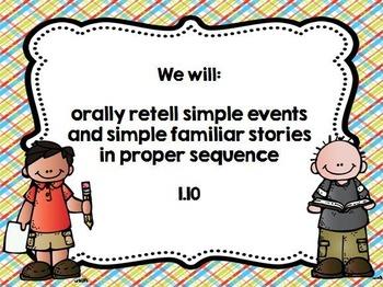 Kindergarten Learning Goals Language