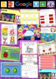 Kindergarten Learning Numbers 7 to 8 Smart Notebook and Unit of Work Bundle 1