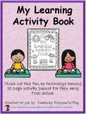Kindergarten Learning Packet for School Closures