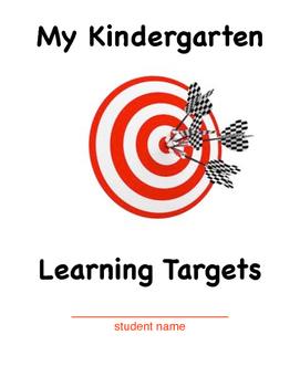 Kindergarten Learning Target Cover Sheet