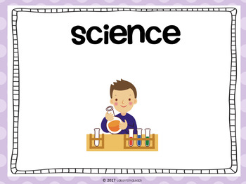 Kindergarten Learning Targets & Success Criteria Posters: Science