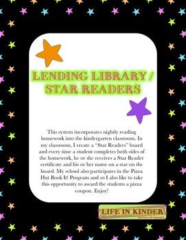 Kindergarten Lending Library Star Reader Bundle