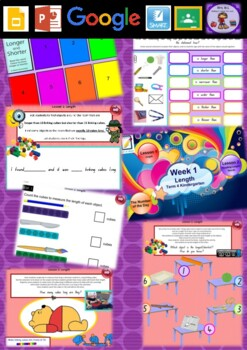 Kindergarten Length Smart Notebook and Unit of Work Bundle 4