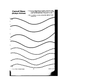 Kindergarten Lesson Plan: Art Readiness Part 2 Safety and Curved Lines