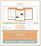 Emergency Sub Plans: Kindergarten: ELA Informational: Apples