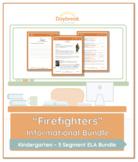 Emergency Sub Plans: Kindergarten: ELA Informational: Fire