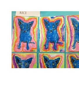 Kindergarten Lesson Plan: Kindergarten Version of The Blue Dog and Cajun Tales