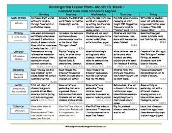 original 1183570 2 - Lesson Plan For Kindergarten Math