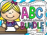ABC Letter Activites - Mega Bundle!