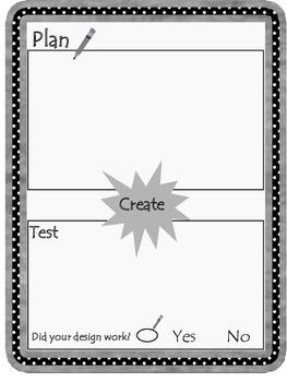 Kindergarten Letter Card House STEM Challenge