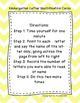 Kindergarten Letter Identification Cards LNF