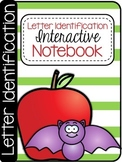 Kindergarten Letter Identification Interactive Notebook