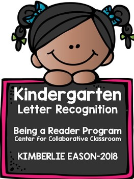 Kindergarten Letter Recognition Pack - Being A Reader Program