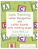 Kindergarten Letter Recognition and Letter Sounds Tracking - RTI