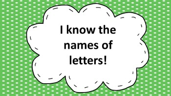 Letter Recognition and Writing