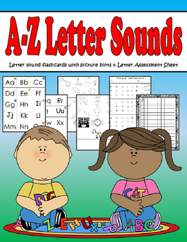 Kindergarten Letter Sound Flashcards