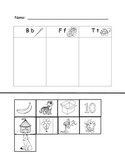 Kindergarten Letter and Sound Supplemental Materials