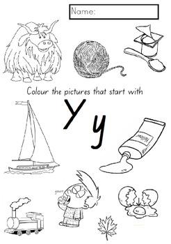 Kindergarten 'Letter of the Week' ALL booklets BUNDLE (NSW Foundation font)