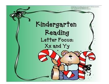 Kindergarten Letters:  Focus Xx and Yy