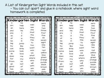 Kindergarten Flash Card and Brochures