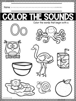 Kindergarten Letters (VA SOLs K.6 and K.10)