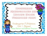 Kindergarten - Letters and Sounds Practice Pack