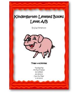 Kindergarten reading level books online