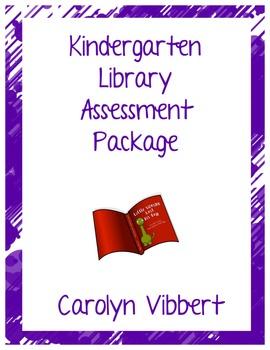 Kindergarten Library Assessment Outline
